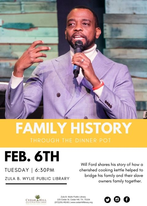 Will Ford, Family History through the Dinner Pot