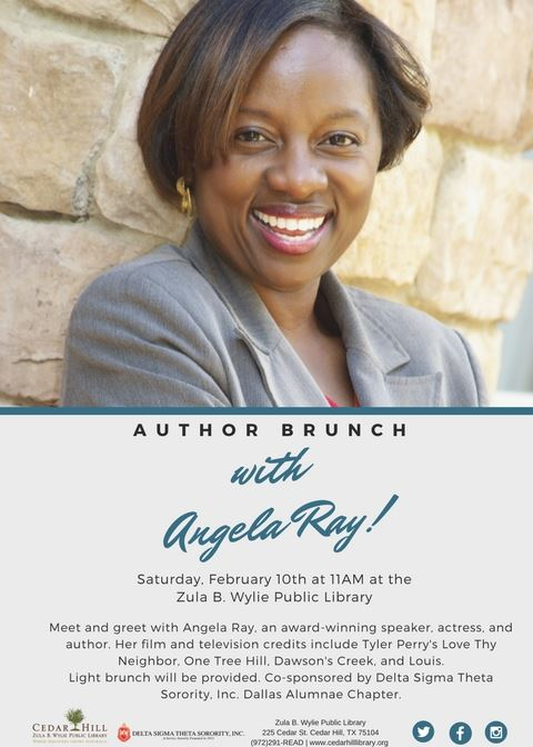 Author Brunch with Angela Ray