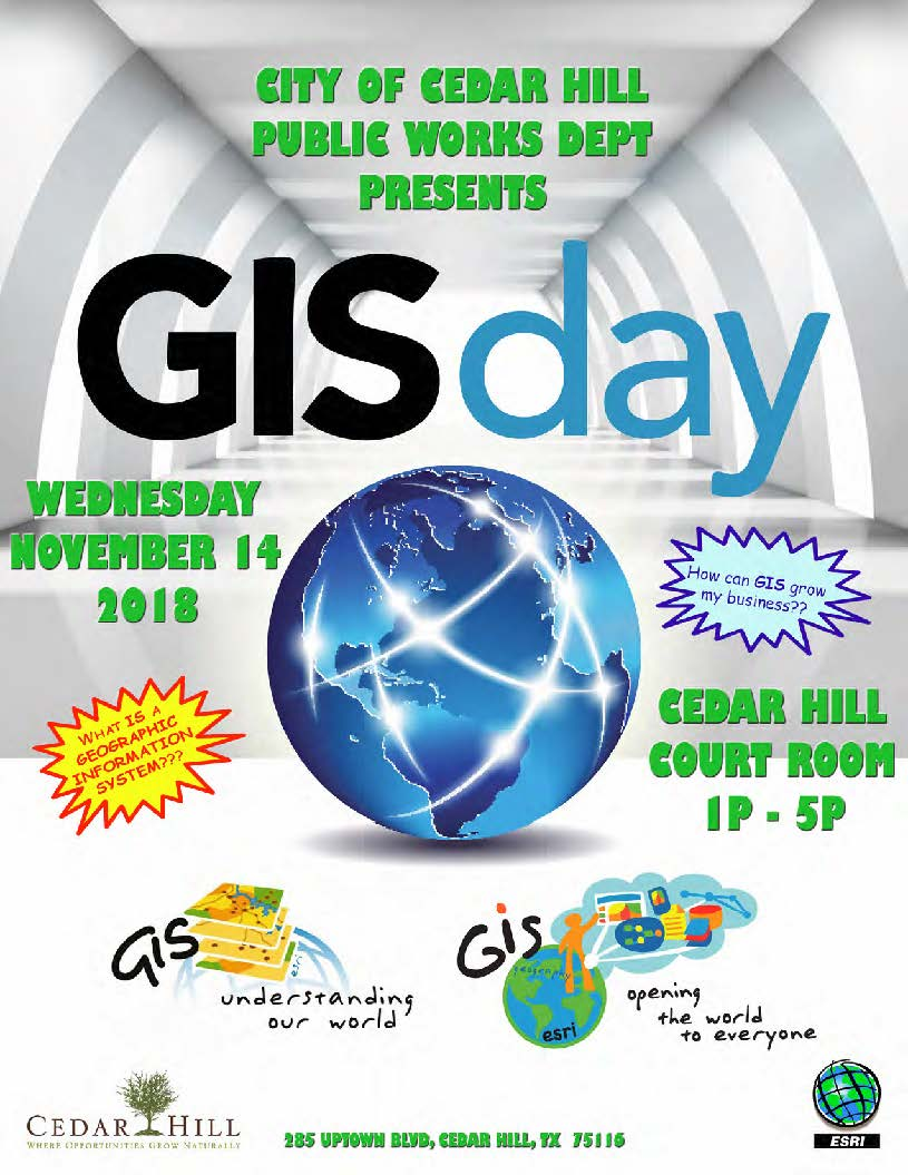 GIS Day Flyer 2018
