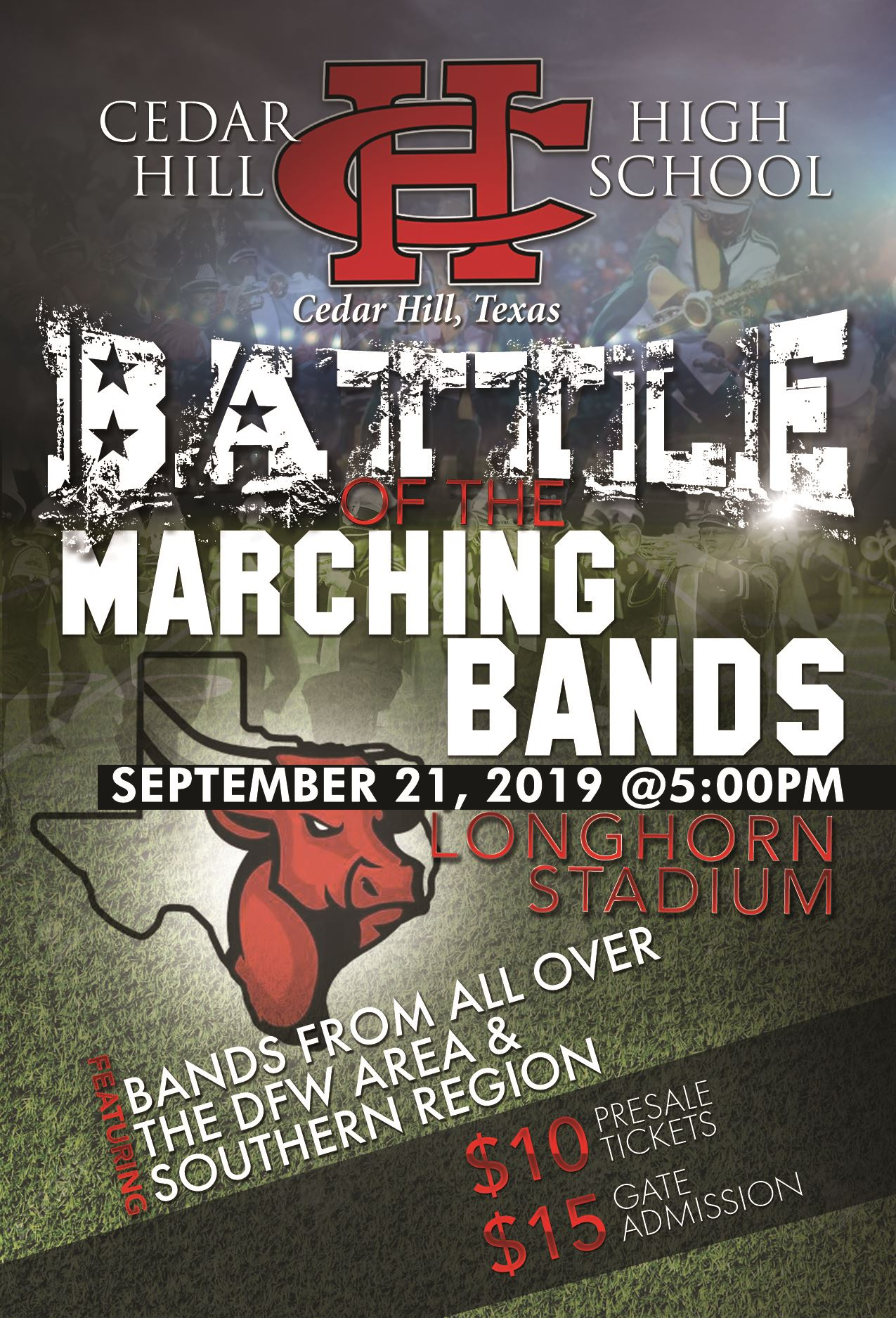 Battle of the Bands Sep 21 5pm