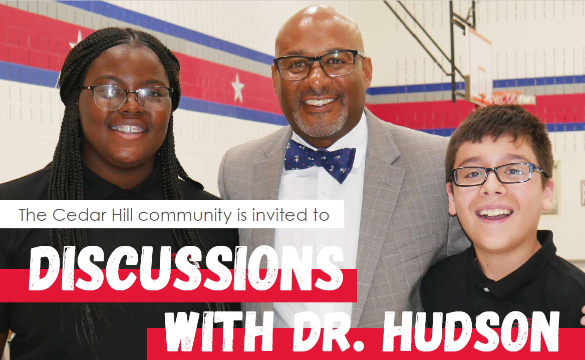 Discussions with Dr. Hudson