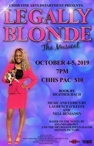CHHS presents Legally Blonde: The Musical!