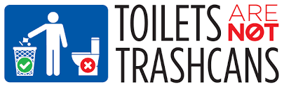 Toilet is Not a Trash Can JPG